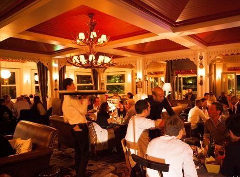 Restaurant chalet des iles